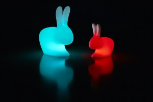 Krzesło _ lampa RABBIT Baby Chair Qeeboo LED